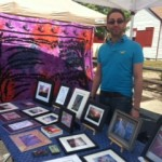 Bob at artwalk 2012