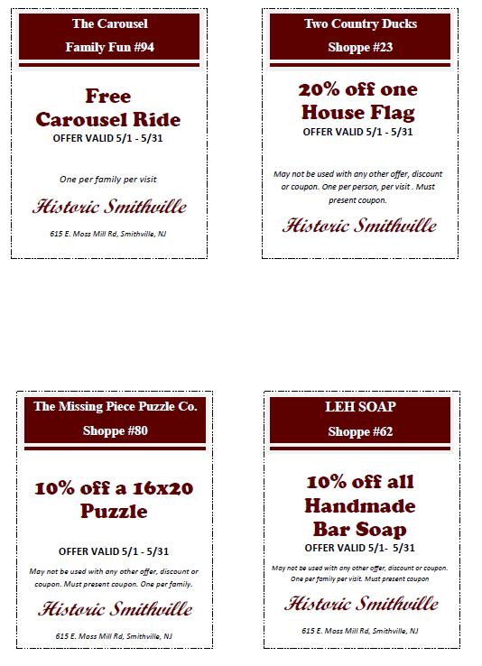 May coupons